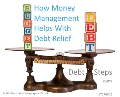 How Money Management Helps with Debt Relief